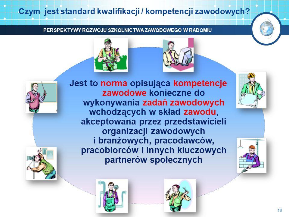 Czym jest standard kwalifikacji / kompetencji zawodowych