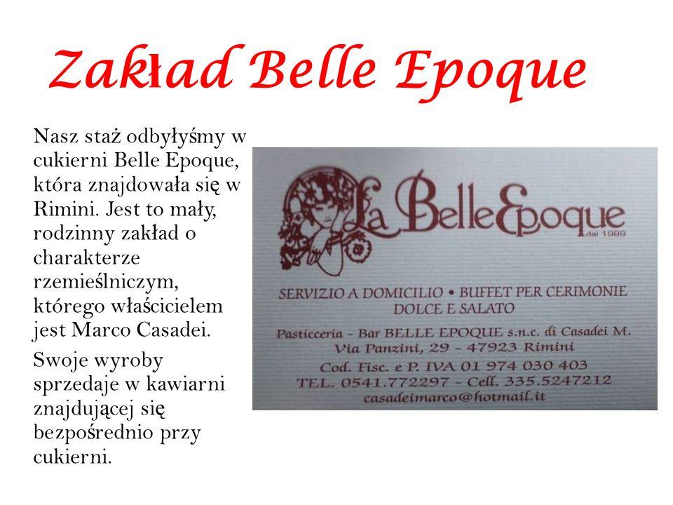 Zakład Belle Epoque