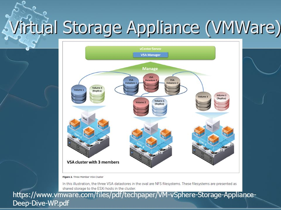 Virtual Storage Appliance (VMWare)