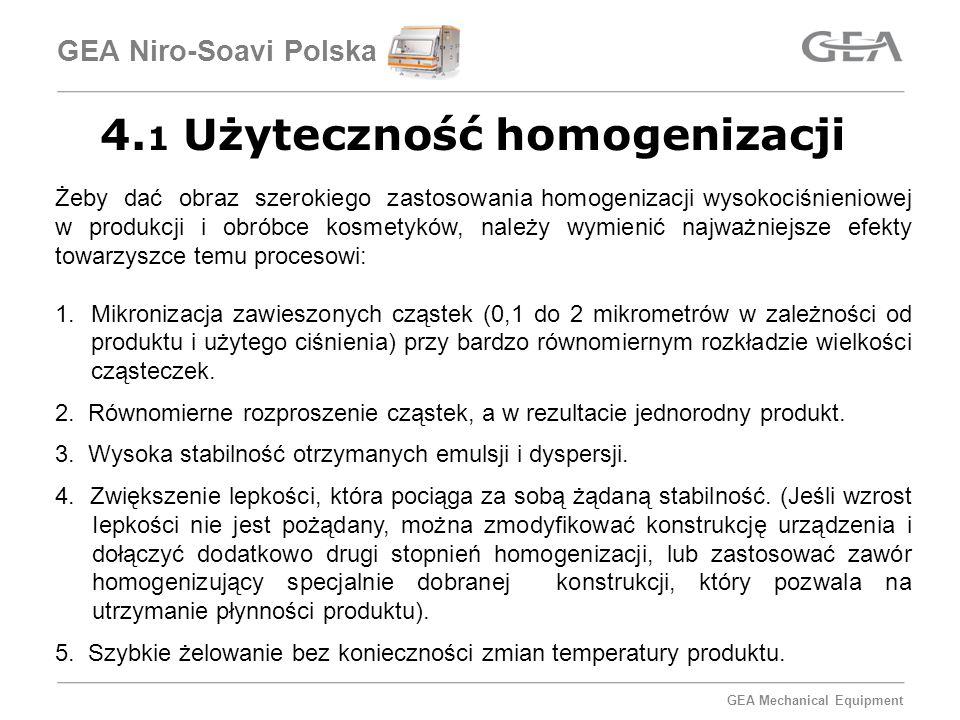 4.1 Użyteczność homogenizacji