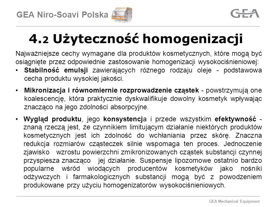 4.2 Użyteczność homogenizacji