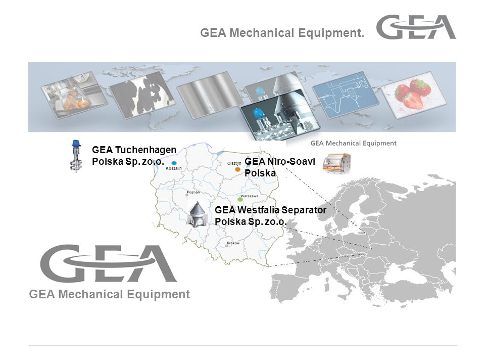 GEA Mechanical Equipment.