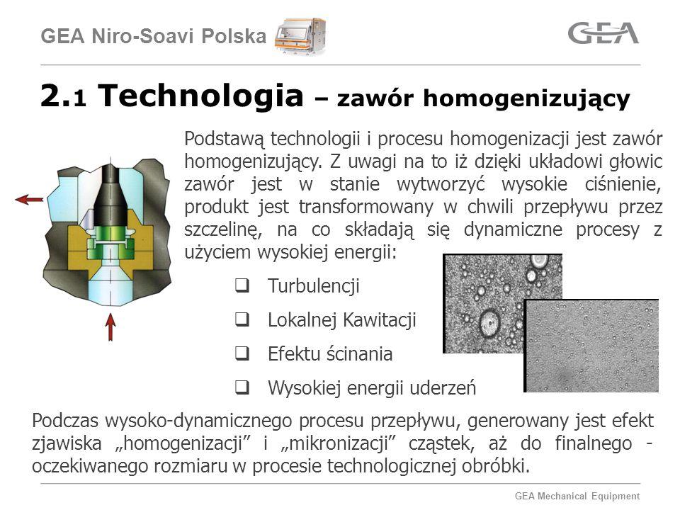 2.1 Technologia – zawór homogenizujący