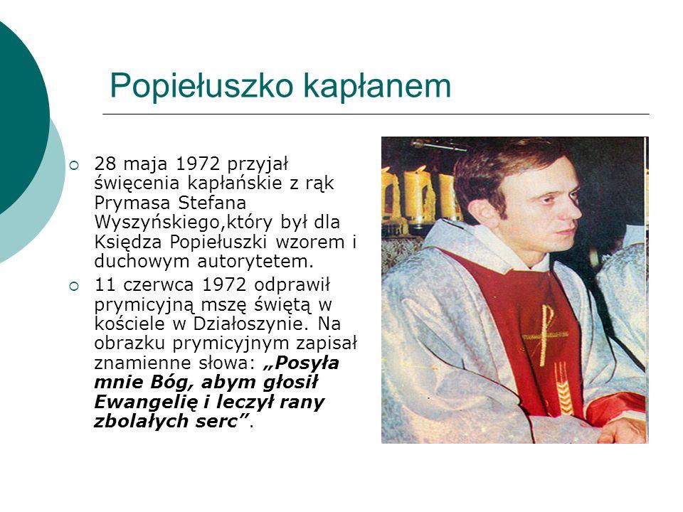 Popiełuszko kapłanem