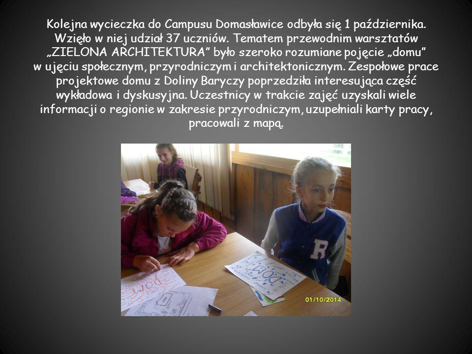 Kolejna wycieczka do Campusu Domasławice odbyła się 1 października