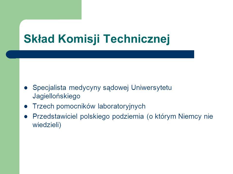Skład Komisji Technicznej
