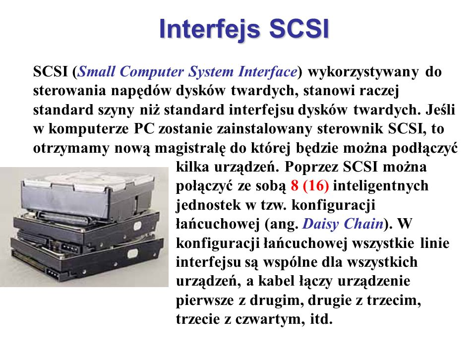 Interfejs SCSI