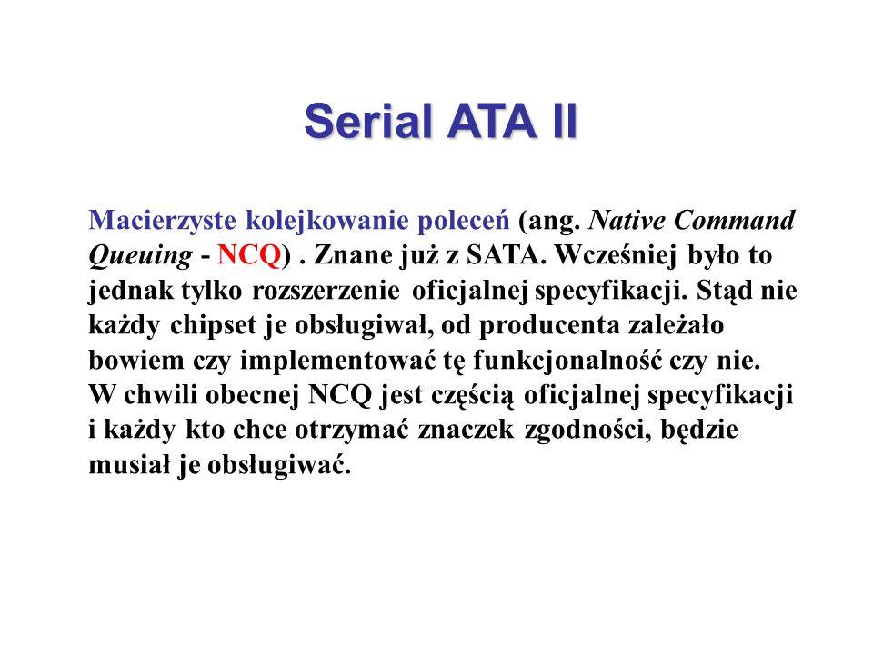 Serial ATA II