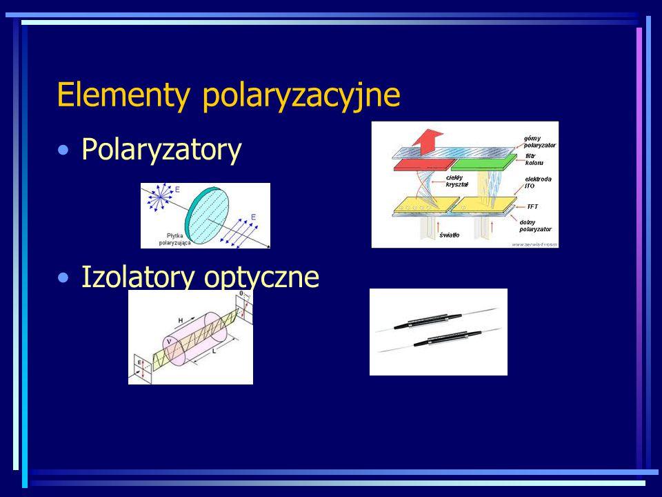 Elementy polaryzacyjne