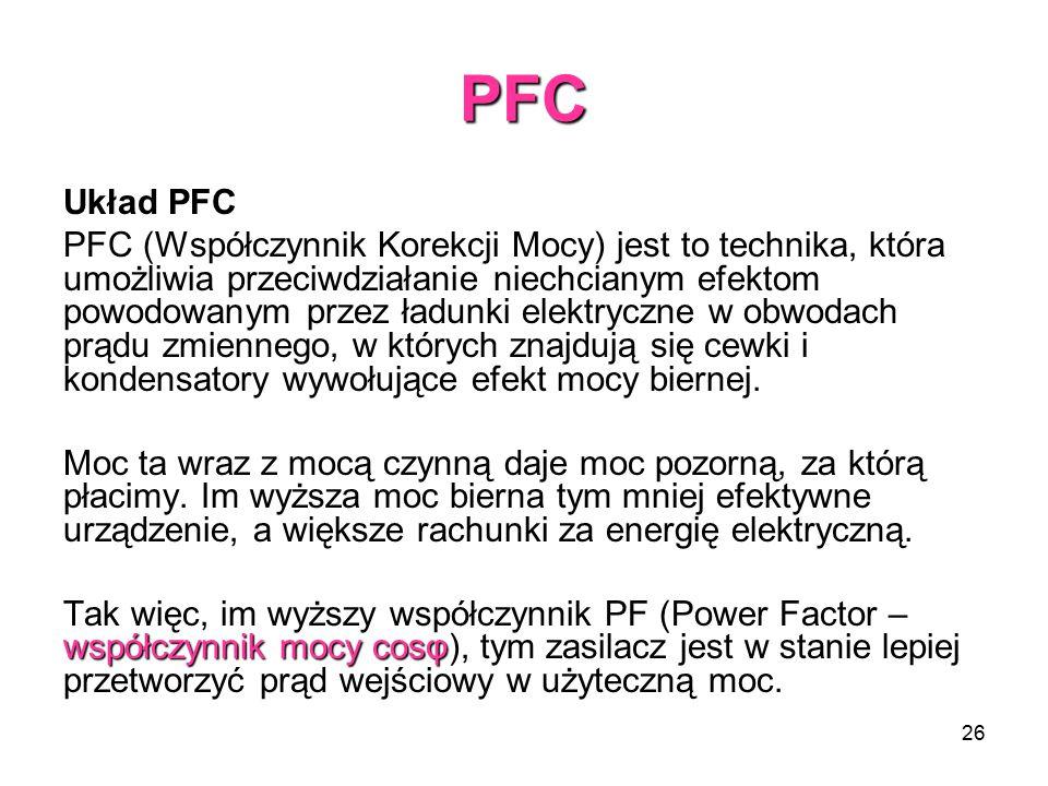 PFC Układ PFC.