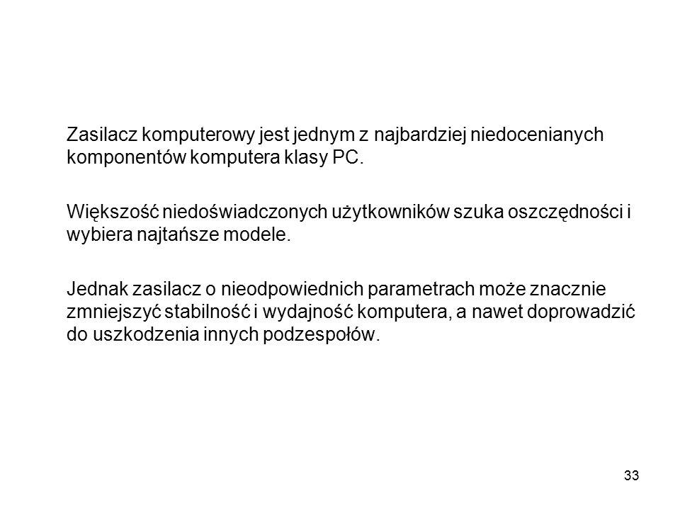 Zasilacz komputerowy jest jednym z najbardziej niedocenianych komponentów komputera klasy PC.