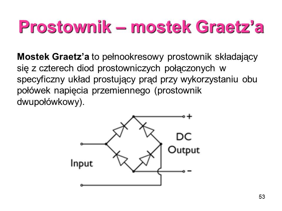 Prostownik – mostek Graetz'a