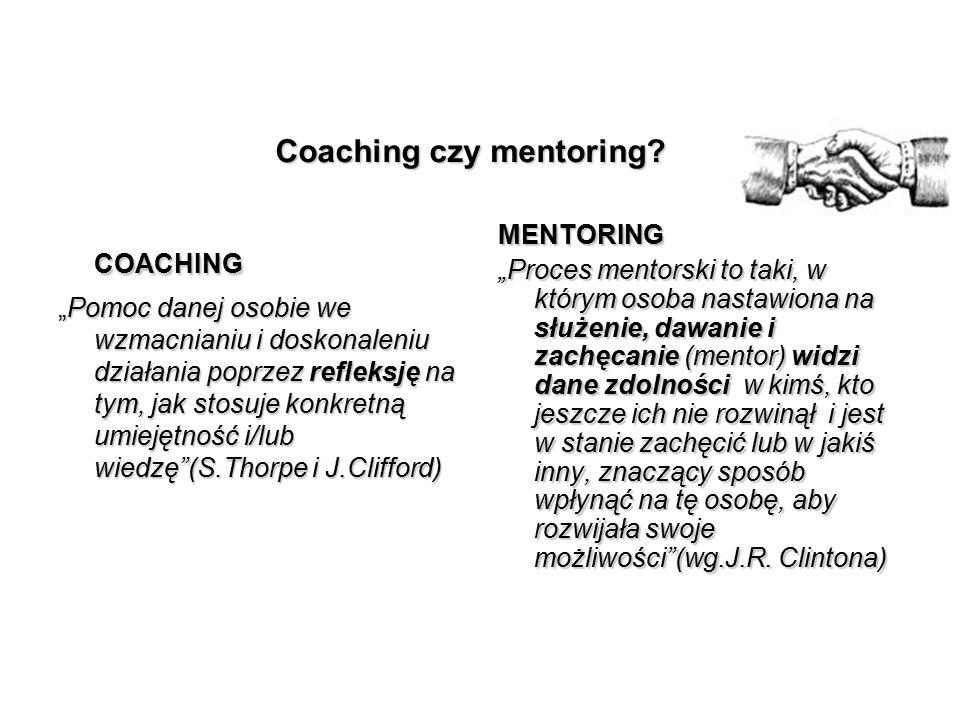 Coaching czy mentoring