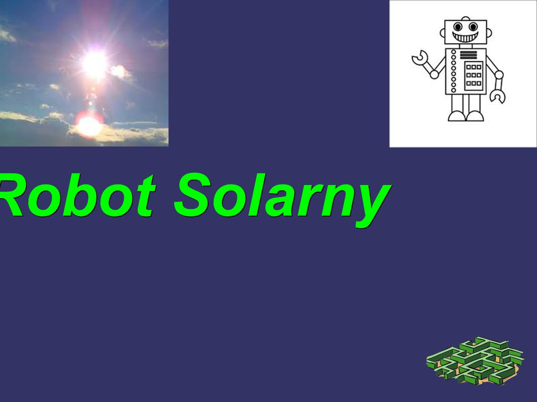 Robot Solarny