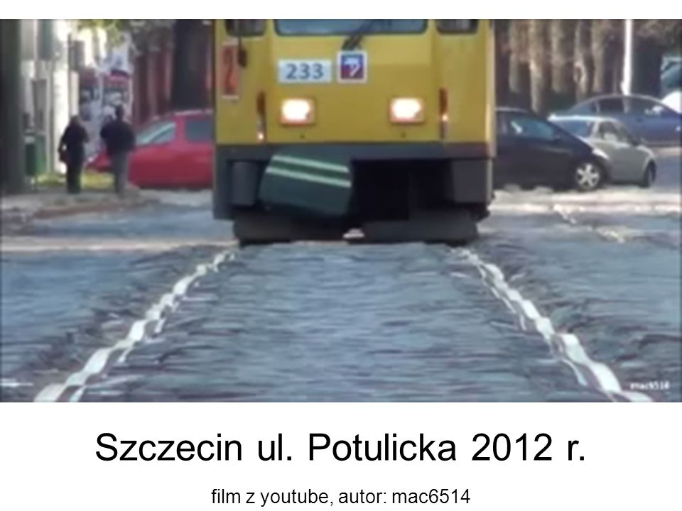 Szczecin ul. Potulicka 2012 r.