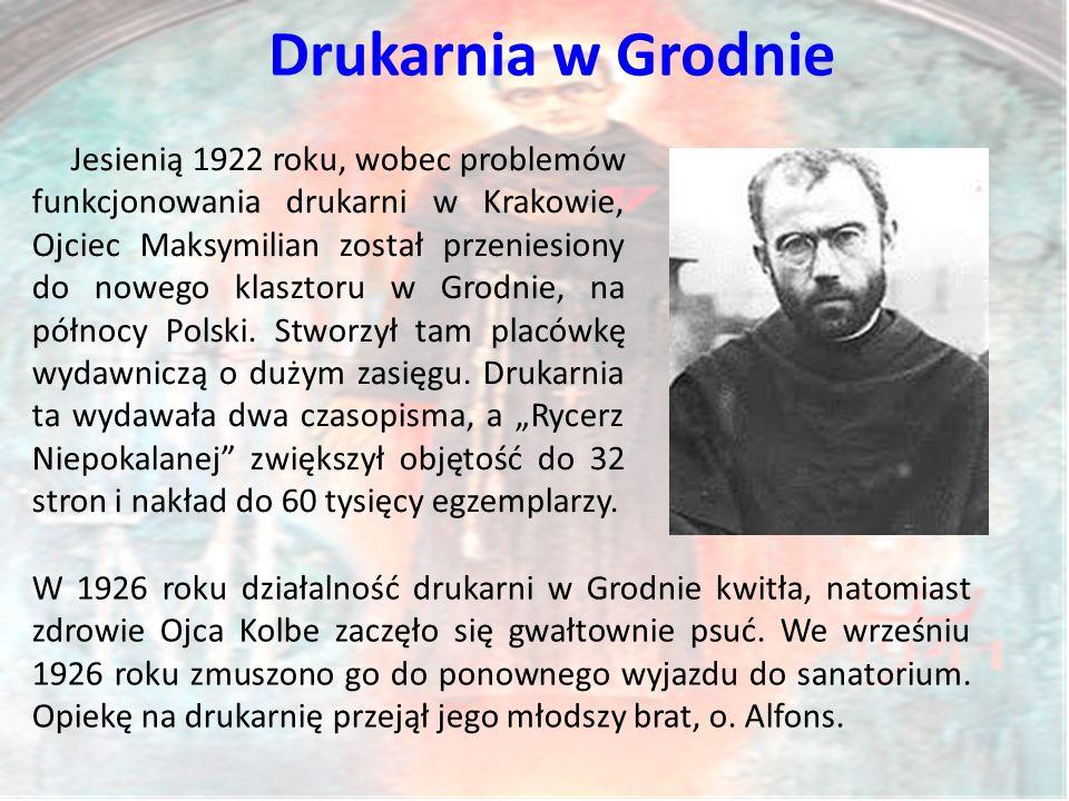 Drukarnia w Grodnie