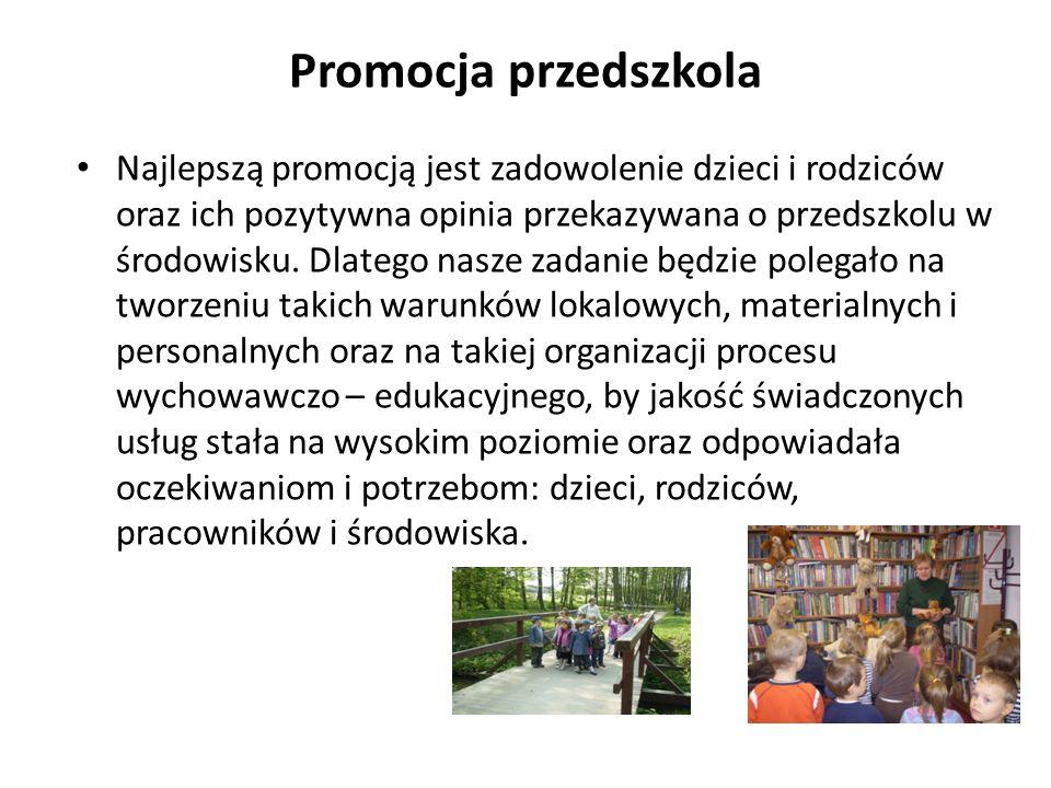 Promocja przedszkola