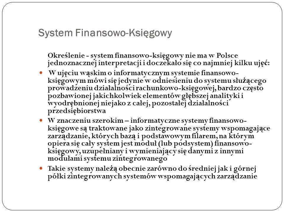 System Finansowo-Księgowy