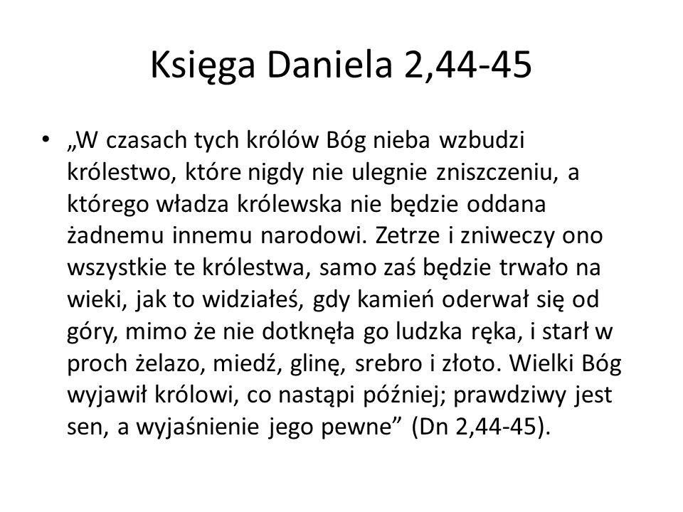 Księga Daniela 2,44-45