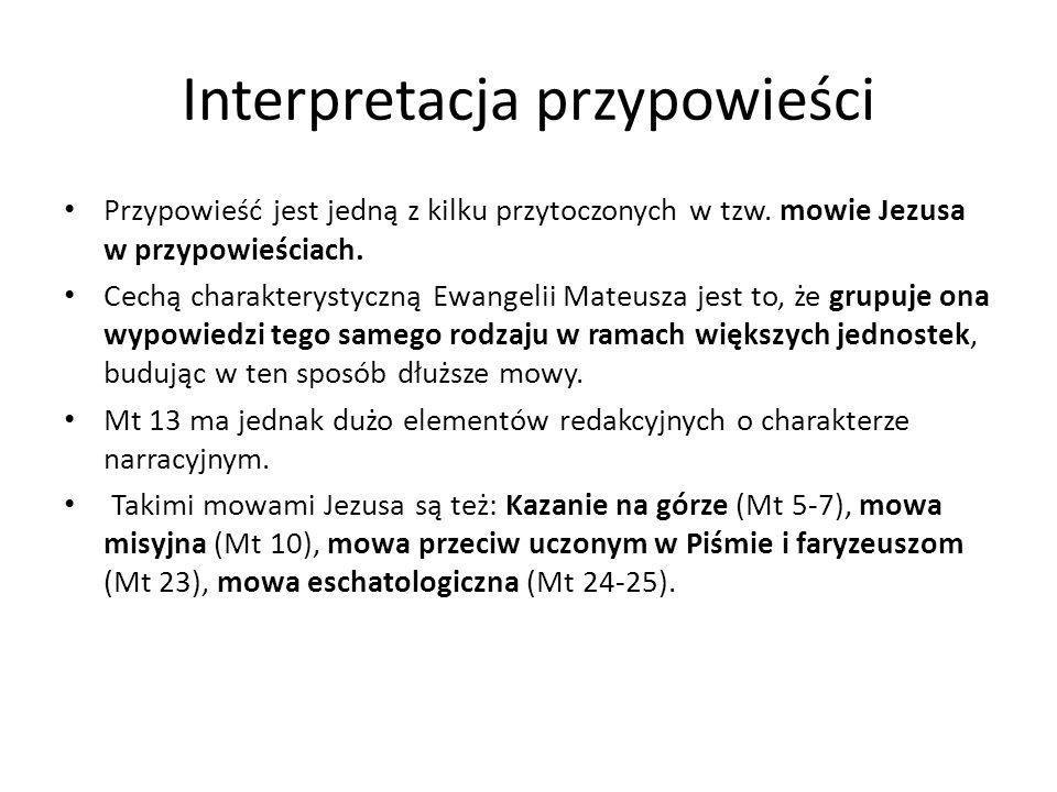 Interpretacja przypowieści