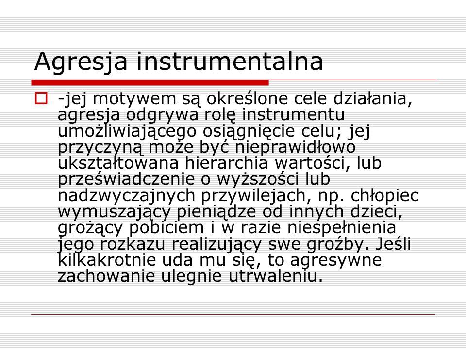 Agresja instrumentalna
