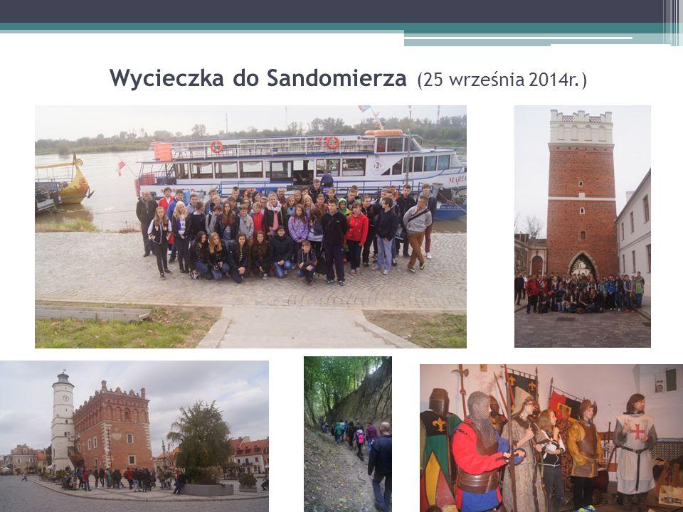 Wycieczka do Sandomierza (25 września 2014r.)