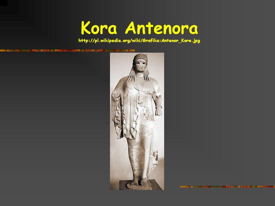 Kora Antenora http://pl.wikipedia.org/wiki/Grafika:Antenor_Kore.jpg