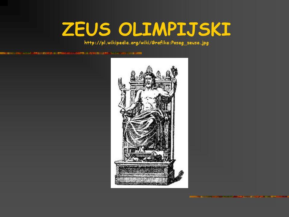 ZEUS OLIMPIJSKI http://pl.wikipedia.org/wiki/Grafika:Posag_zeusa.jpg