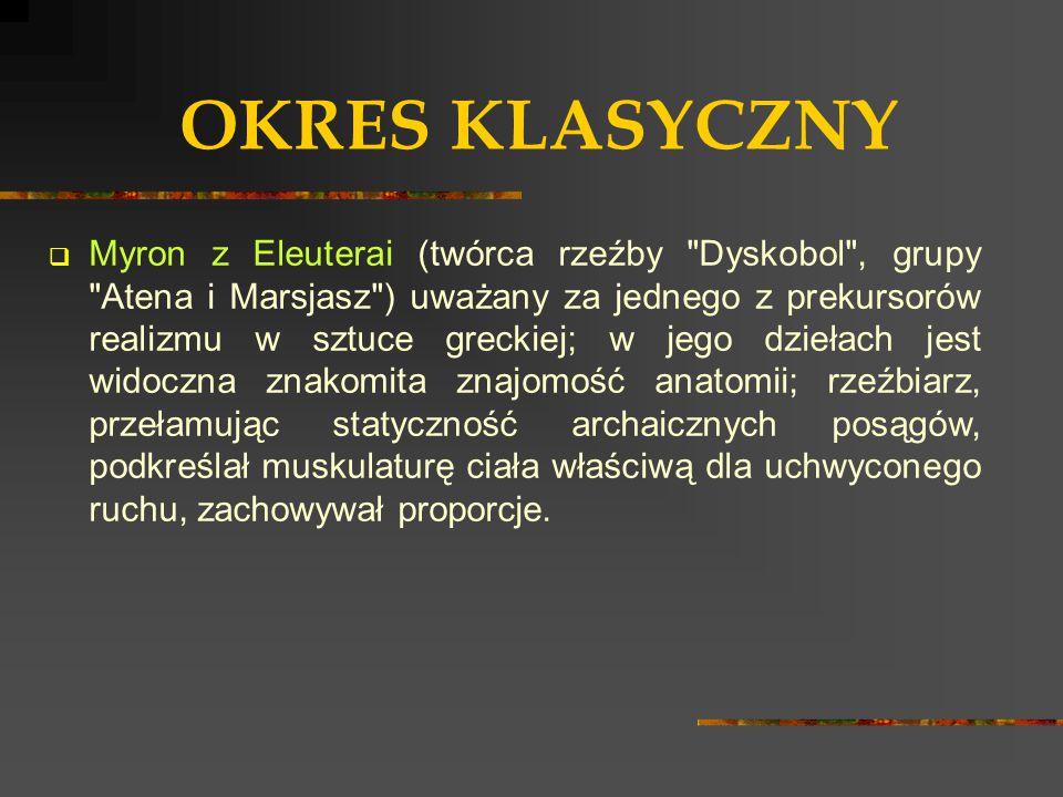 OKRES KLASYCZNY