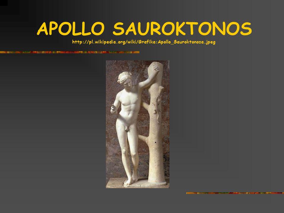 APOLLO SAUROKTONOS http://pl. wikipedia