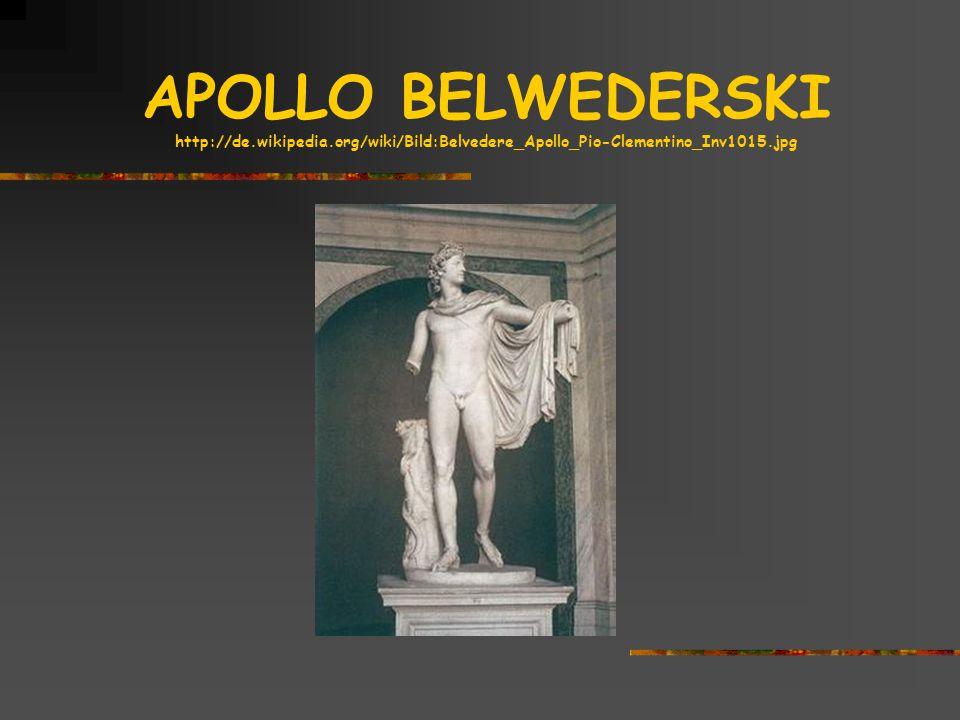 APOLLO BELWEDERSKI http://de. wikipedia