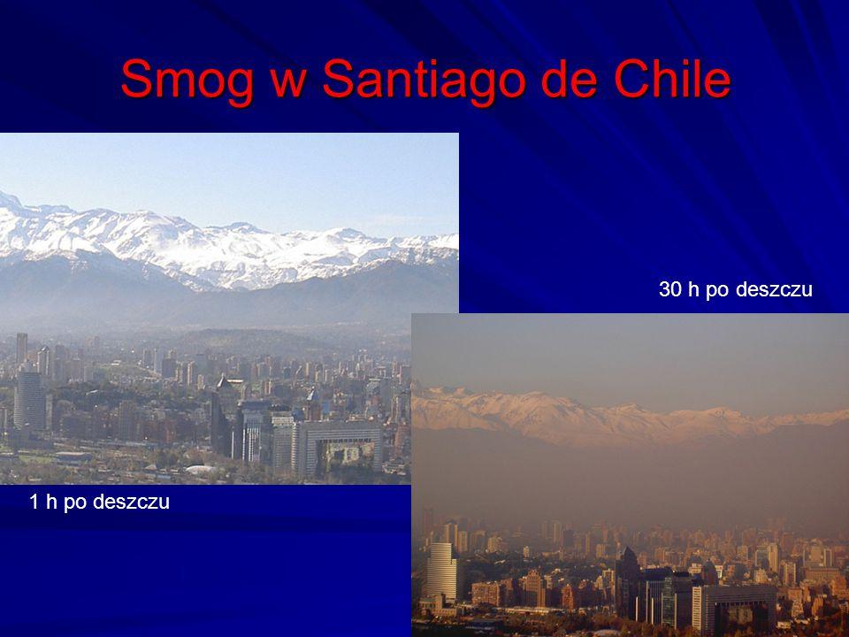 Smog w Santiago de Chile