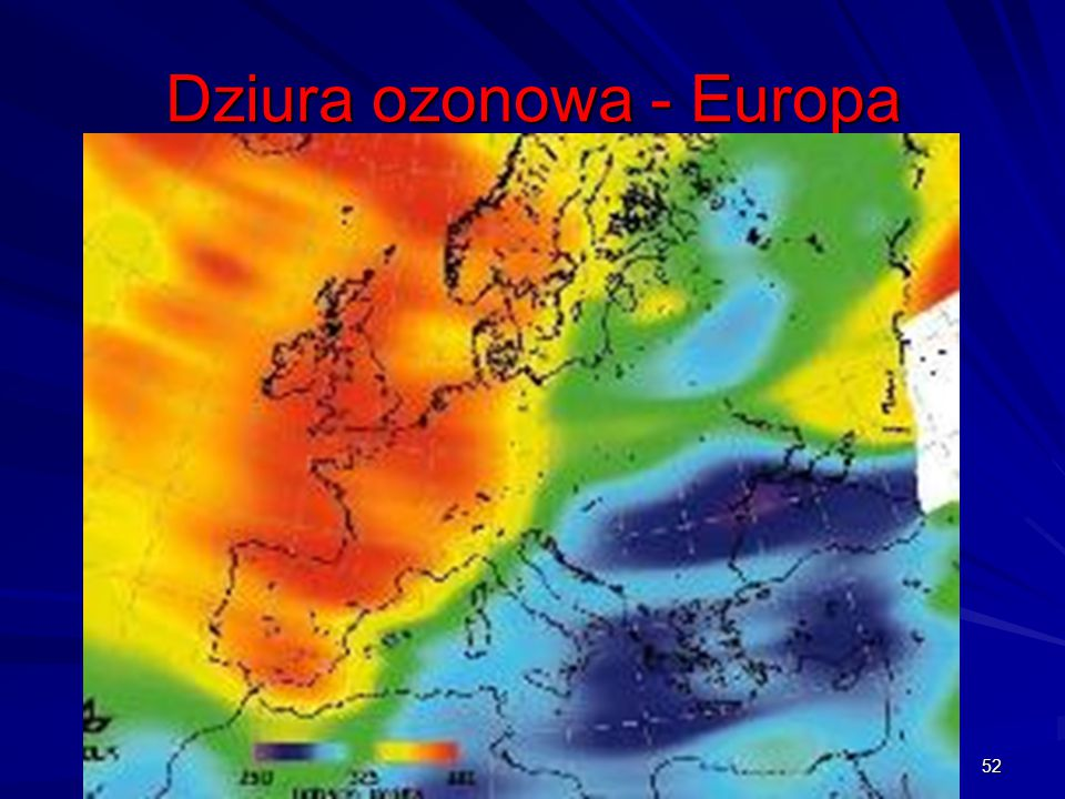 Dziura ozonowa - Europa