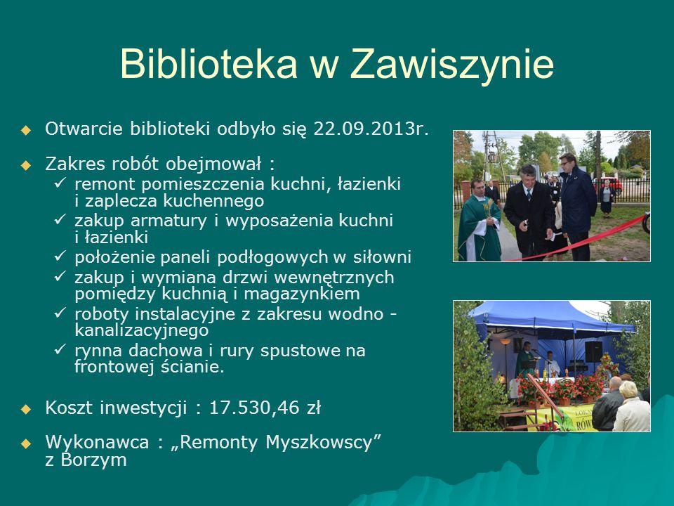 Biblioteka w Zawiszynie