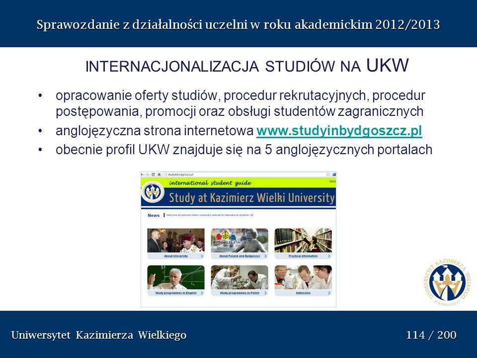 internacjonalizacja studiów na UKW