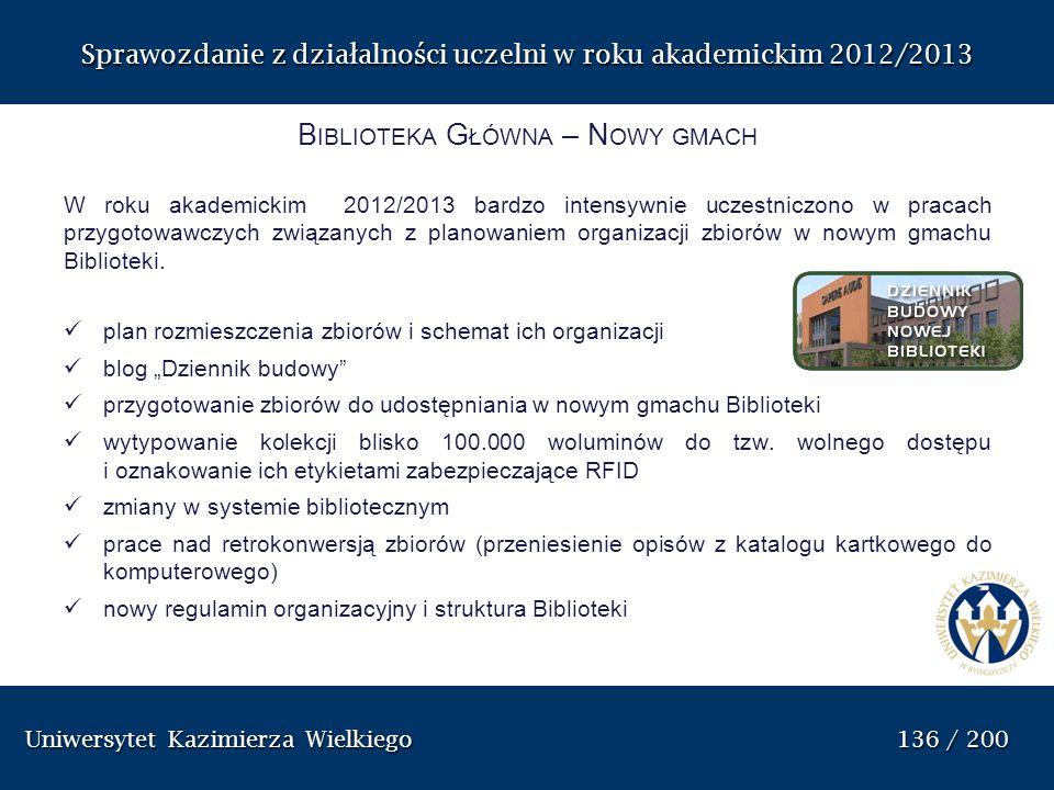 Biblioteka Główna – Nowy gmach