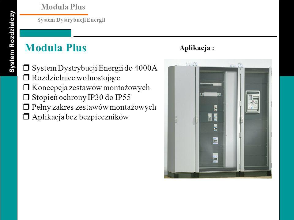 System Dystrybucji Energii do 4000A Rozdzielnice wolnostojące