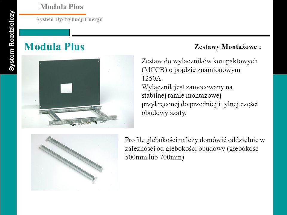 Zestawy Montażowe : Zestaw do wyłaczników kompaktowych (MCCB) o prądzie znamionowym 1250A.