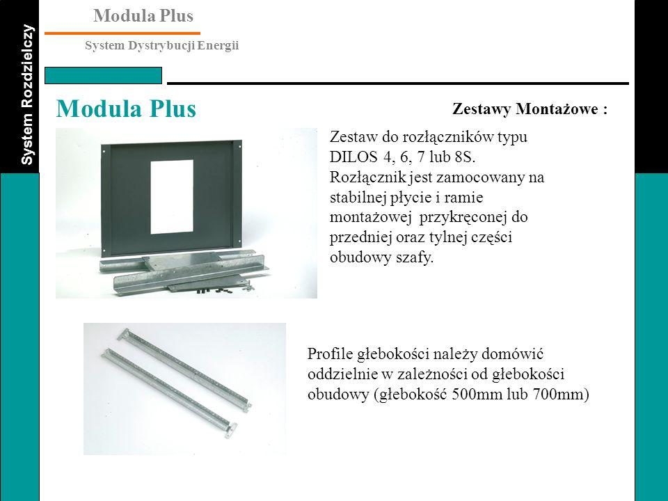 Zestawy Montażowe : Zestaw do rozłączników typu DILOS 4, 6, 7 lub 8S.