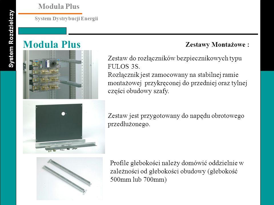 Zestawy Montażowe : Zestaw do rozłączników bezpiecznikowych typu FULOS 3S.