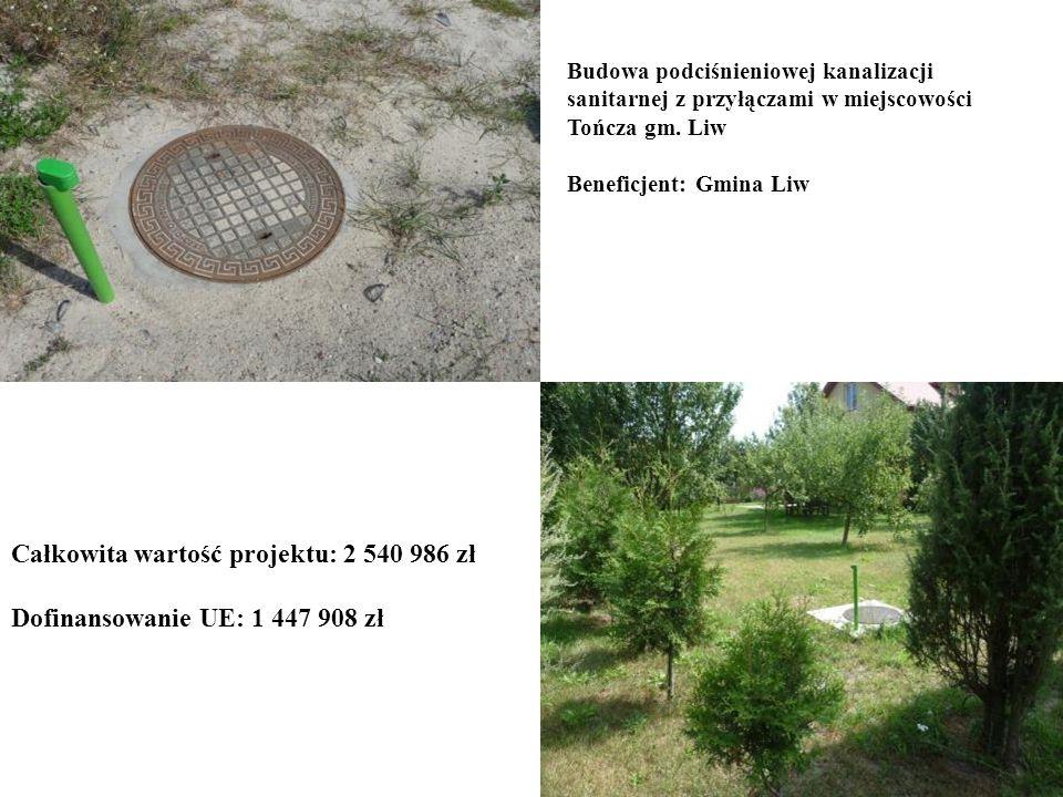 Całkowita wartość projektu: 2 540 986 zł