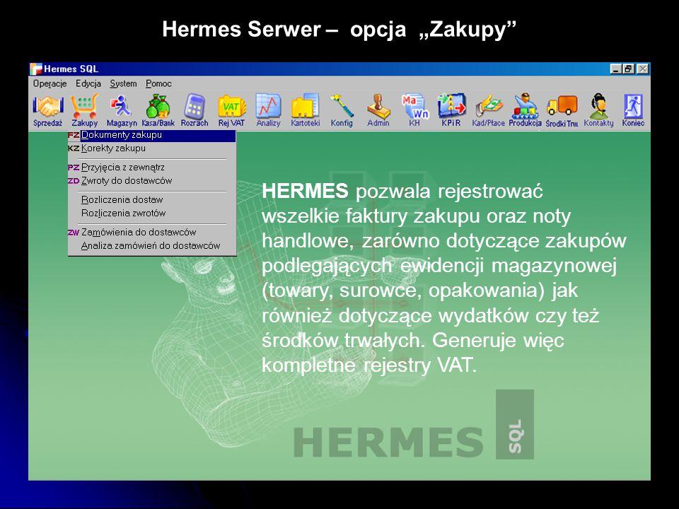 """Hermes Serwer – opcja """"Zakupy"""