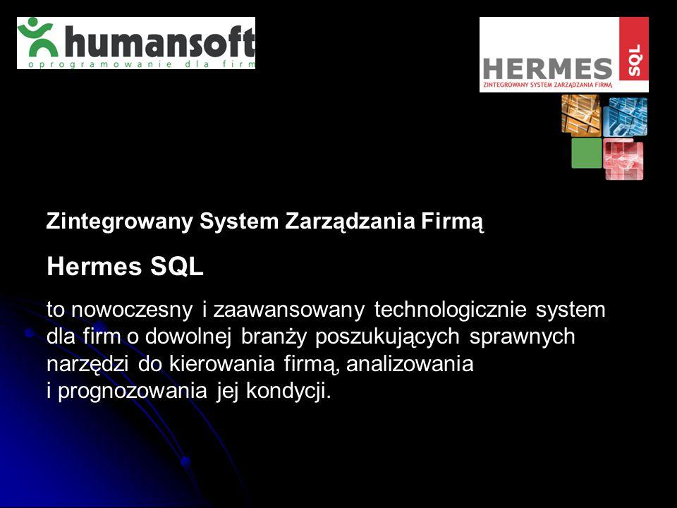 Hermes SQL Zintegrowany System Zarządzania Firmą