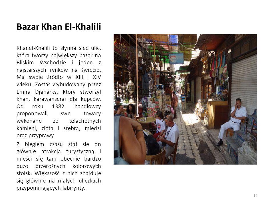Bazar Khan El-Khalili