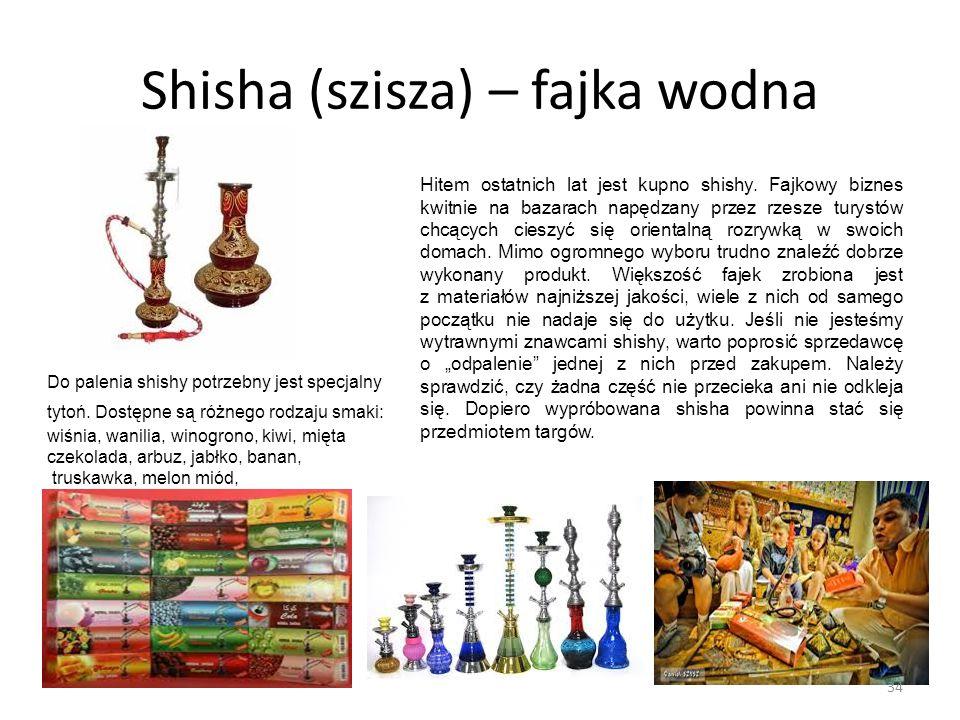 Shisha (szisza) – fajka wodna