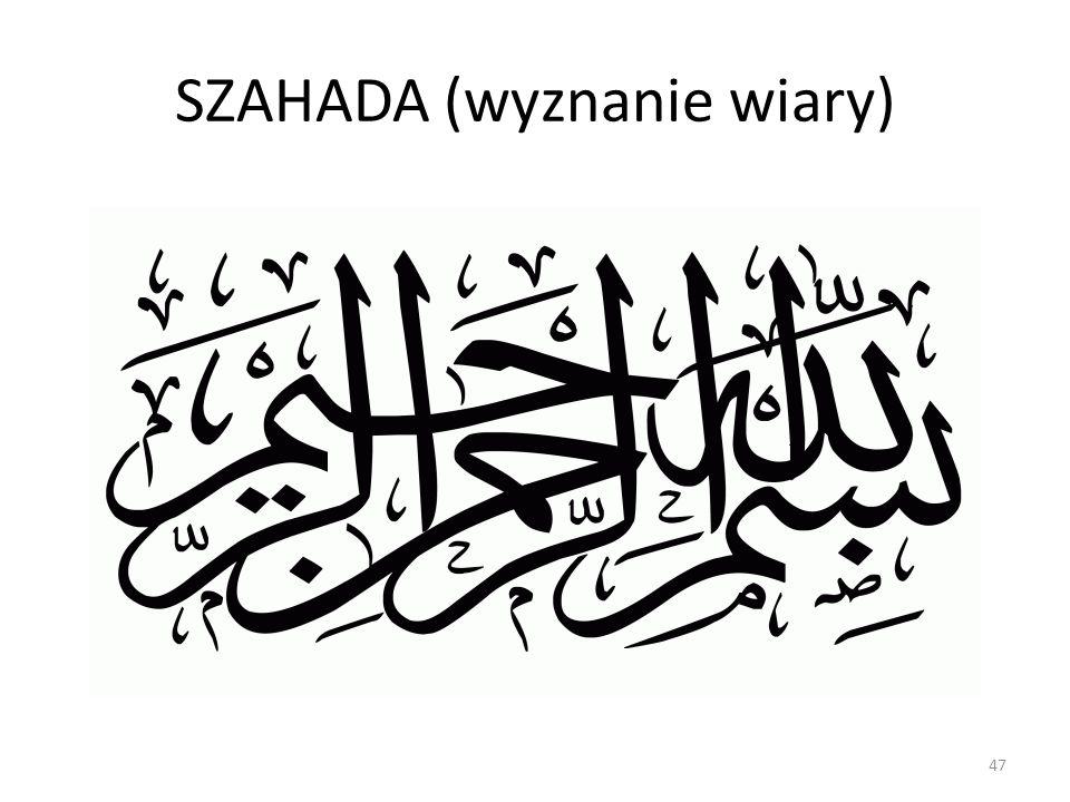 SZAHADA (wyznanie wiary)