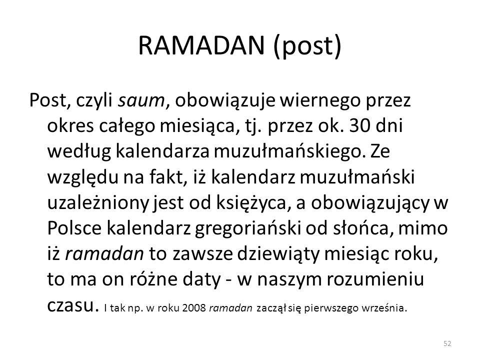 RAMADAN (post)