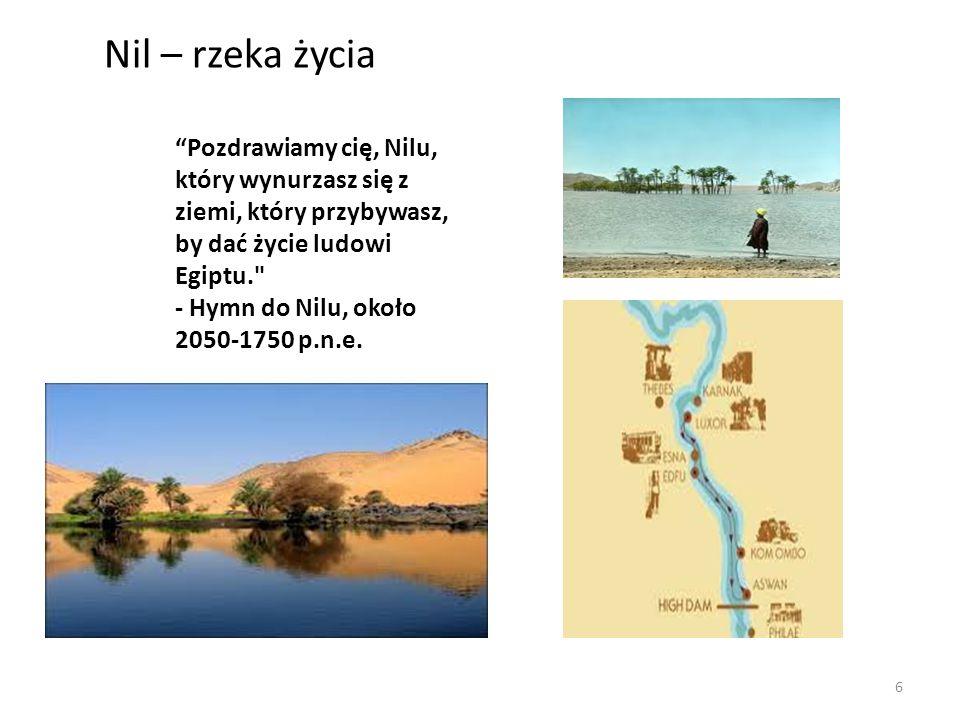 Nil – rzeka życia