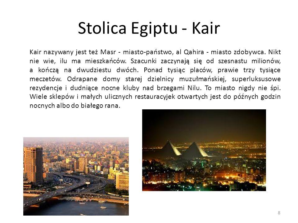 Stolica Egiptu - Kair