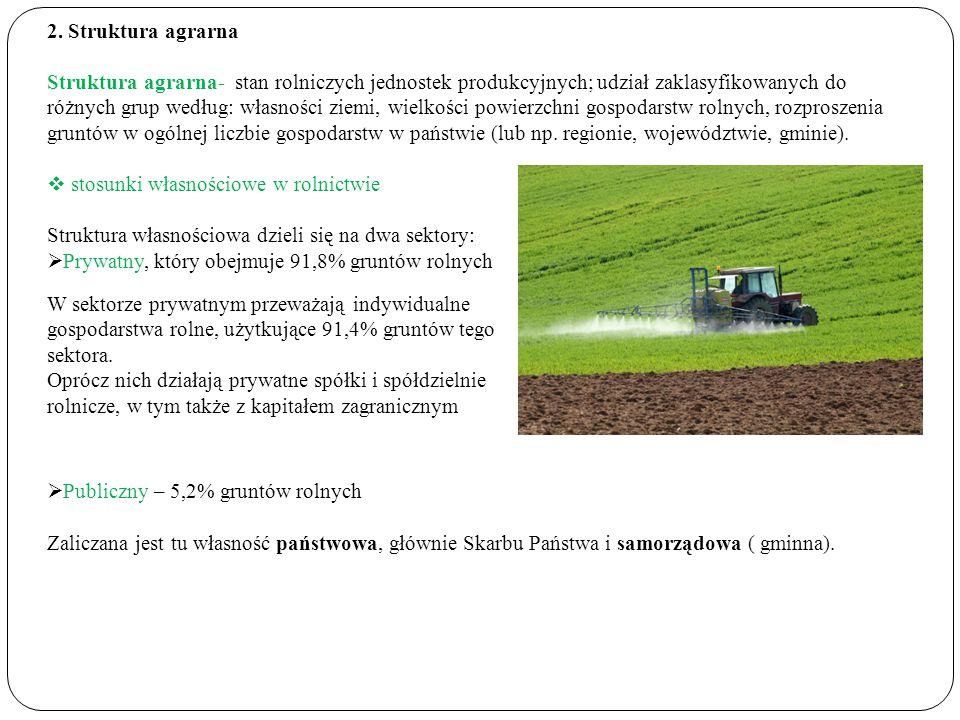 2. Struktura agrarna